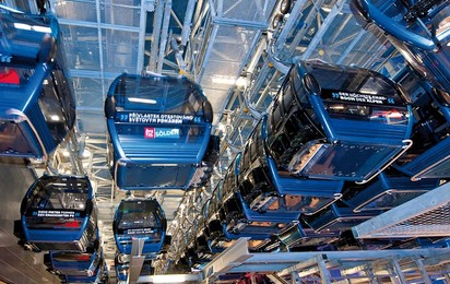 Station parking for the ropeway carriers guarantees a long service life by ensuring optimal protection for chairs and gondolas.