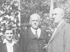 Founder Konrad in the middle, with his son Emil to his right and his grandson Arthur to his left.