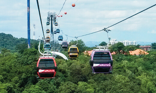 8-MGD Intra Island Cableway