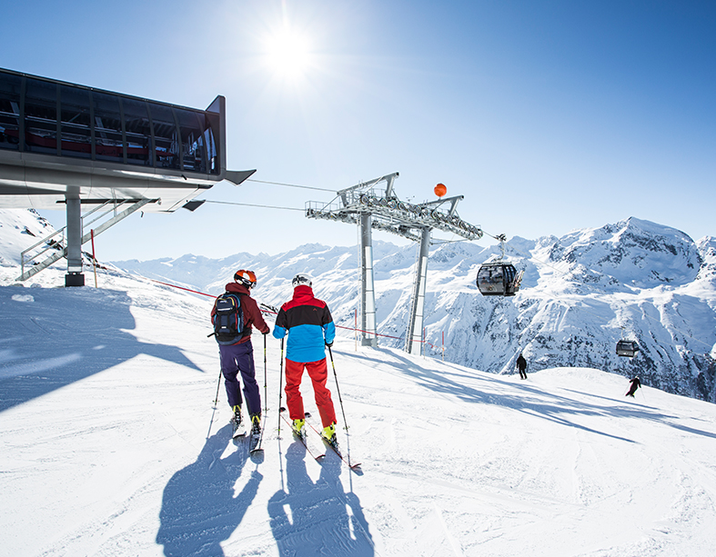D-Line Doppelmayr D-Line_Skifahrer